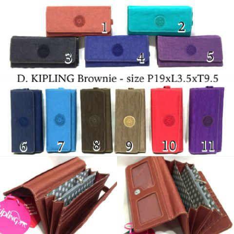 dompet kipling brownie @110rb..uck01