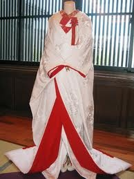 Japanese Wedding Kimono Gown