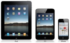 Atlast, Apple decided to make something whose size sits right in between Ipad and Iphone.