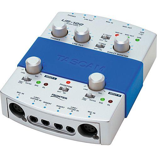 TASCAM US-122 USB Audio/MIDI Interface