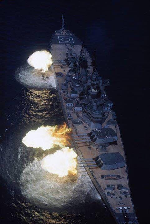 USS Iowa after modernization