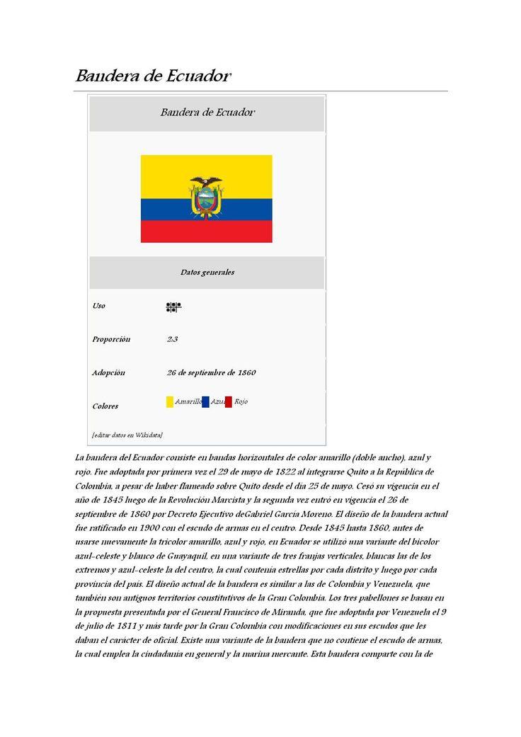 Bandera de ecuador by Alexander - issuu