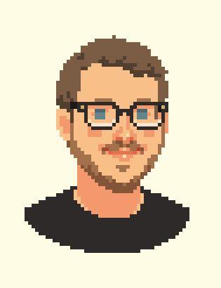VIXELS: pixelate your portrait (by commission)