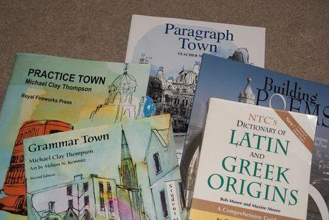 Michael Clay Thompson language arts program is a wonderfully challenging program.
