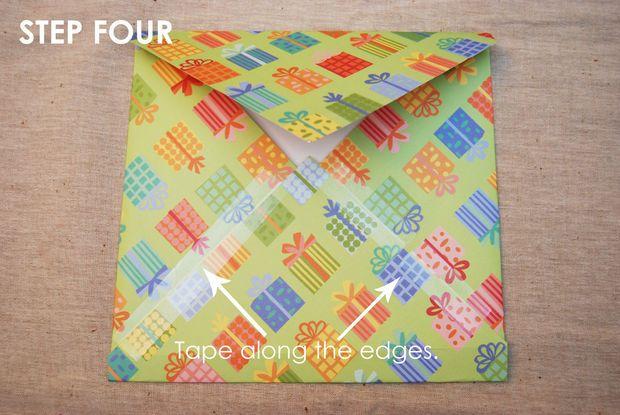 Scrapbook Paper Envelope - All