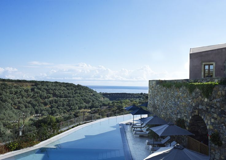 Take in the view as you relax by the pool