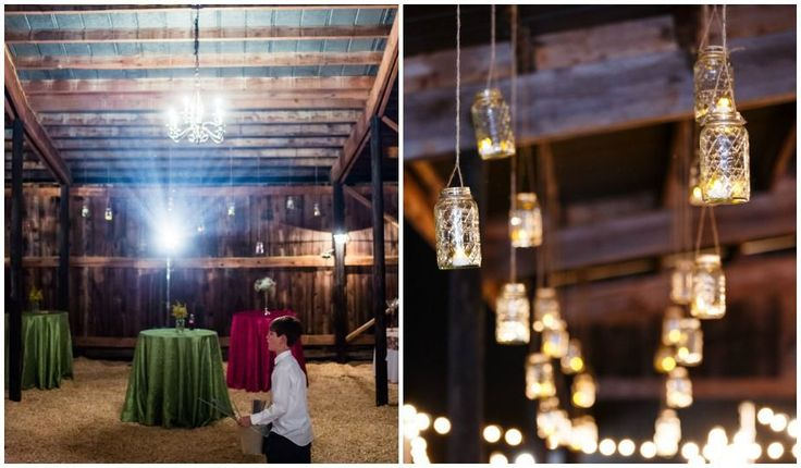 Kelly and Jeremy had a beautiful barn wedding full of eclectic details that truly defined Rustic Chic style. They had hand-painted signs and hand-made dresses for the flower girls to give the day a hand-crafted feel. They also added sparkle to the day with hanging mason jars and a super fun sparkly I Do on the bottom of the brides Louboutin's. Their farm wedding was made complete with a classic John Deer tractor sitting outside their beautifully lit barn reception. Our thanks to Bamber…