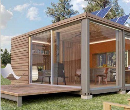 Cute Ferienhaus Modulhaus Typ m BAUSATZ in Immobilien Wohnen eBay