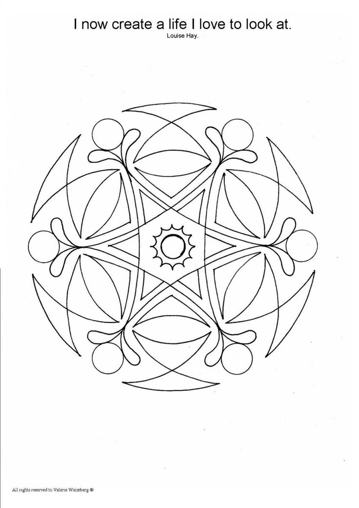 A PDF Mandala Coloring Book, Mandala is an open window to
