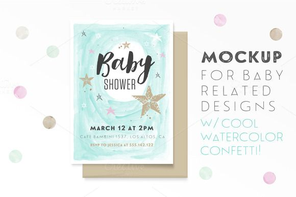 Mockup for Baby Related Designs by Hype Your Prints on @creativemarket
