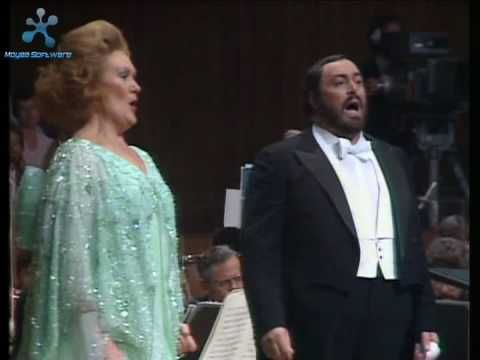 Libiamo - Brindisi from Traviata - Joan Sutherland and Pavarotti - YouTube
