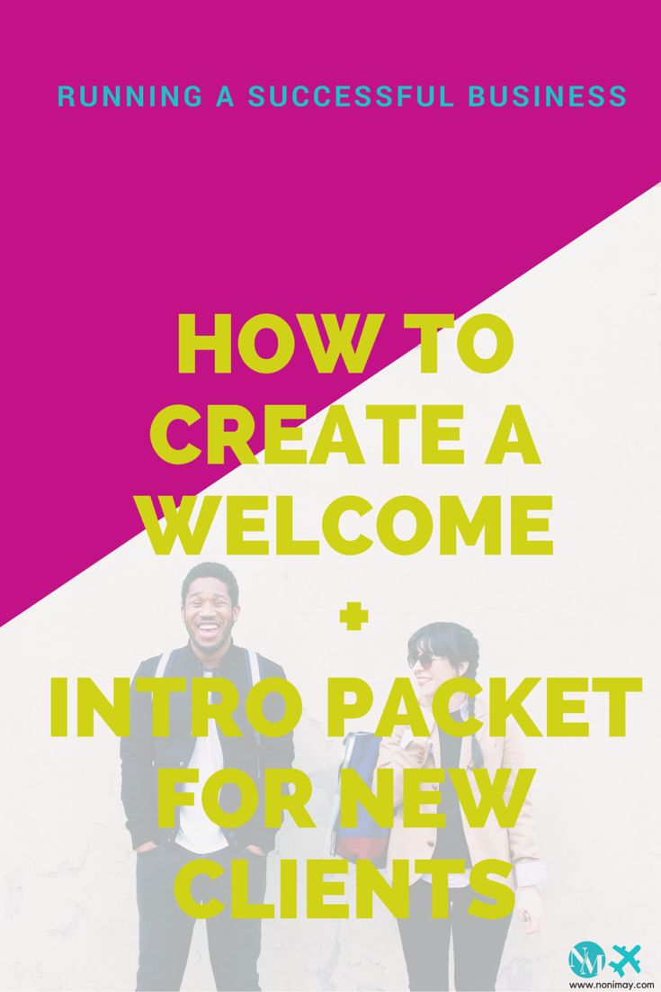 How to create a pre-onboard + onboard packet for new clients.   Accepting new…                                                                                                                                                                                 More