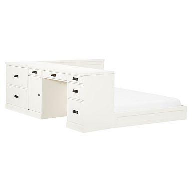 paramount bed desk set potterybarnteen bed desk set