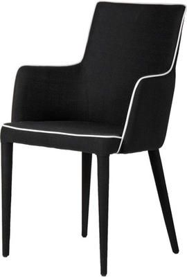 Asteria Black & White Dining Chair by Alexander and Pearl