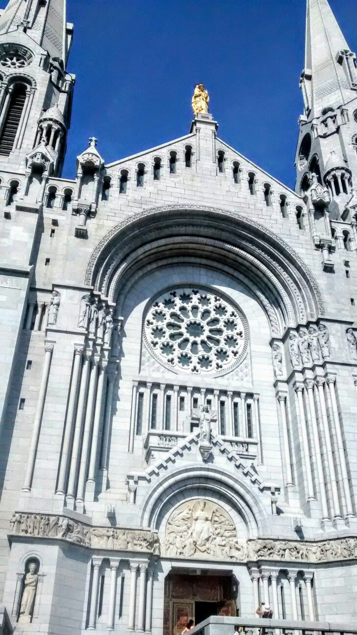 BasilicaofSainte-Anne-de-Beaupré Quebec