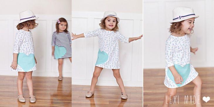 мастер-класс по пошиву милых детских платьев в европейском стиле для начинающих мам и швей