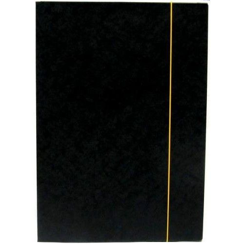 Irattartó mappa gumis - Fekete - Iratgyűjtő A4 mappa - Fornax Glossy 400 gr Ft Ár 139