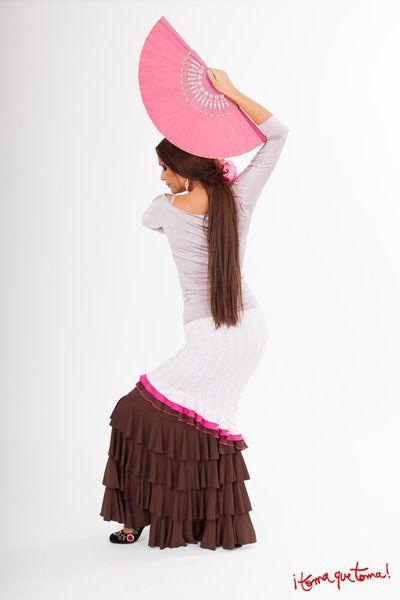Rüschenröcke - Flamencorock mit vielen Volants - ein Designerstück von Tomaquetoma bei DaWanda