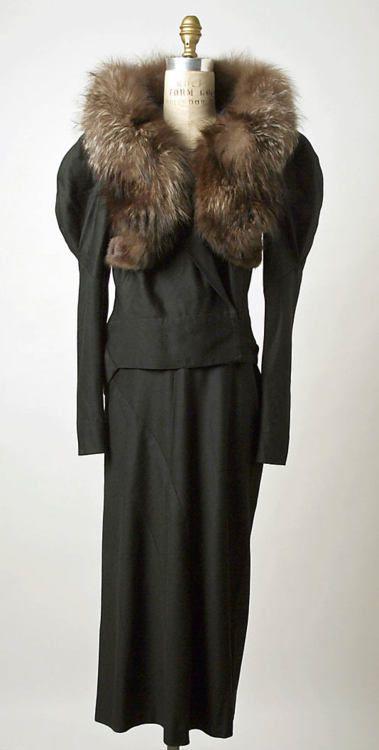 Suit    Elsa Schiaparelli, 1936-1938    The Metropolitan Museum of Art