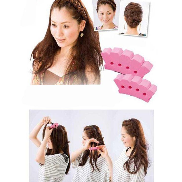1 pz diy accessori per capelli strumenti per lo styling intrecciare i capelli intrecciatura macchina trecce tessuto dei capelli braider