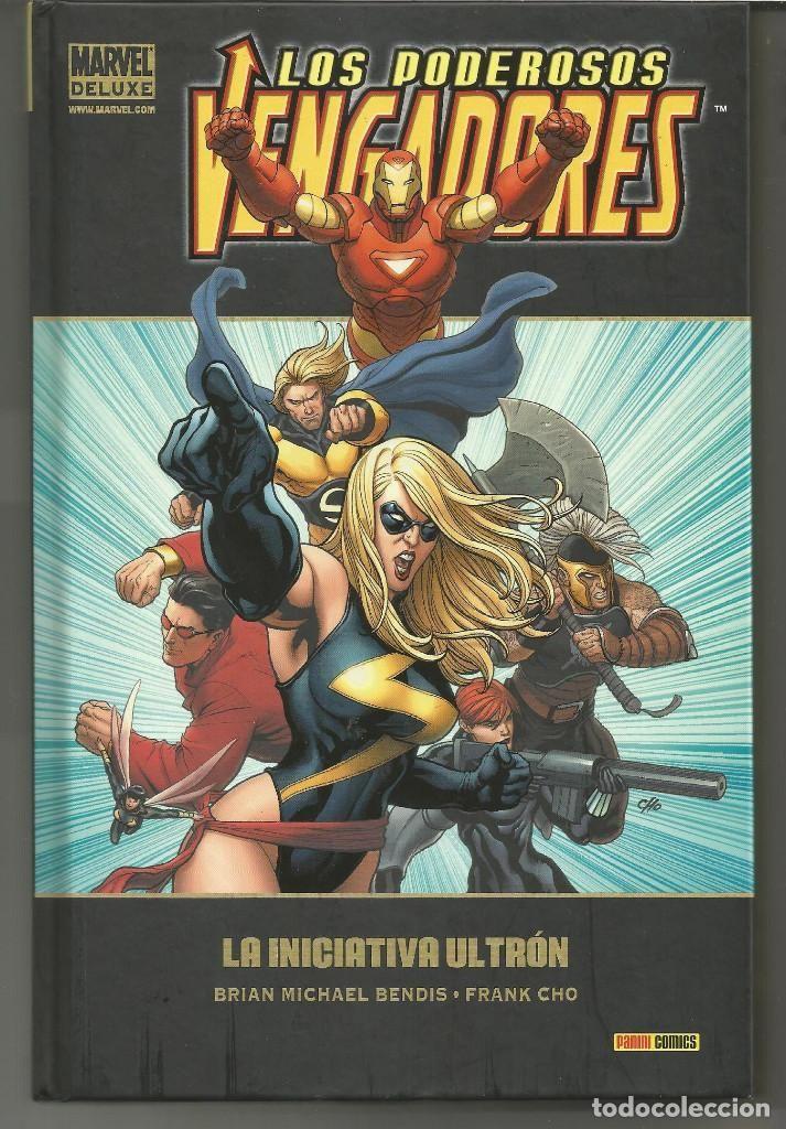 Marvel Deluxe. Los Poderosos Vengadores 1 Panini Cómics