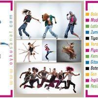 Bale- Modern Dans-Yaratıcı Drama -Tiyatro - Piyano -Keman- Gitar -Bateri - Zumba