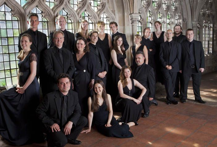 TENEBRAE enthralls audiences with the power and intimacy of the human voice. This virtuosic British chamber choir makes its Spivey Hall debut on Sunday, October 25, 2015.