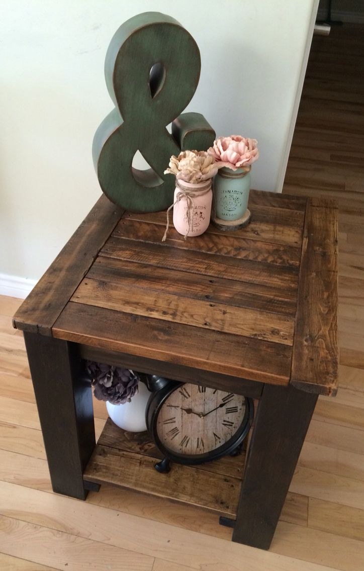rustic side table stirling rustic furniture