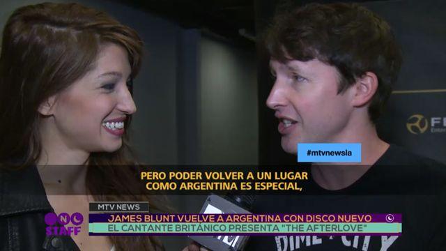 Interview in Argentina - via Telefe Noticias #TheAfterloveTour