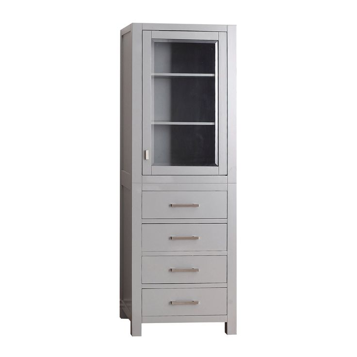 Shop Avanity  MODERO-LT24-CG Modero 24-in Linen Tower at Lowe's Canada. Find our selection of linen cabinets at the lowest price guaranteed with price match + 10% off.