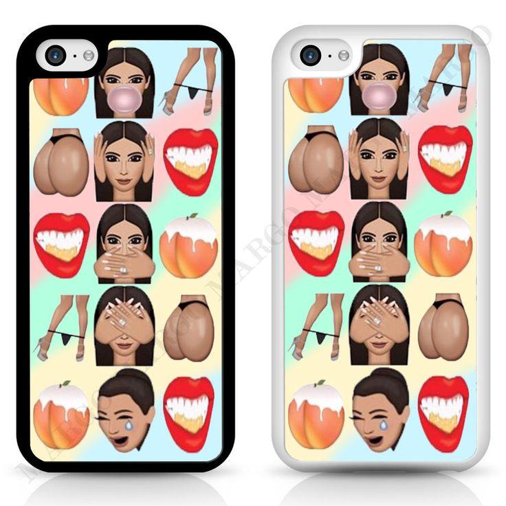 Kim Crying Kim Kanye Kimoji Kardashian Cover Case for iPhone iPod Samsung Sony
