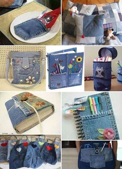 Upcycle from denim