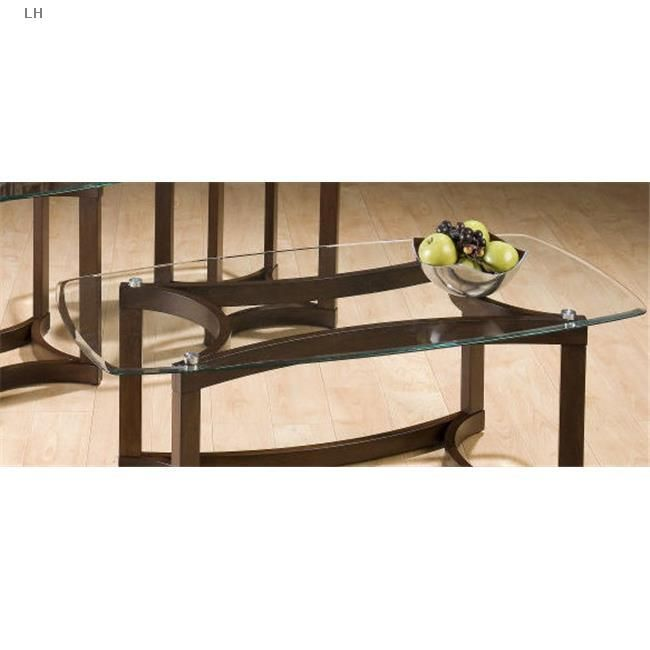 Jofran 107g Cocktail Table With Surfboard Shaped 6mm Tempered Glass Top Coffeetable Surfboard Shapes Living Room Table Sets Coffee Table Jofran living room cocktail table