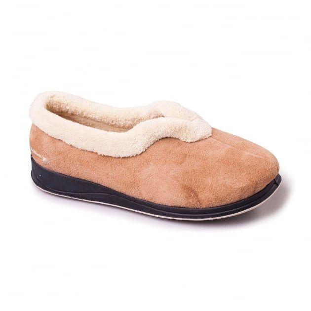Carmen 417 EE Fit Beige Slippers