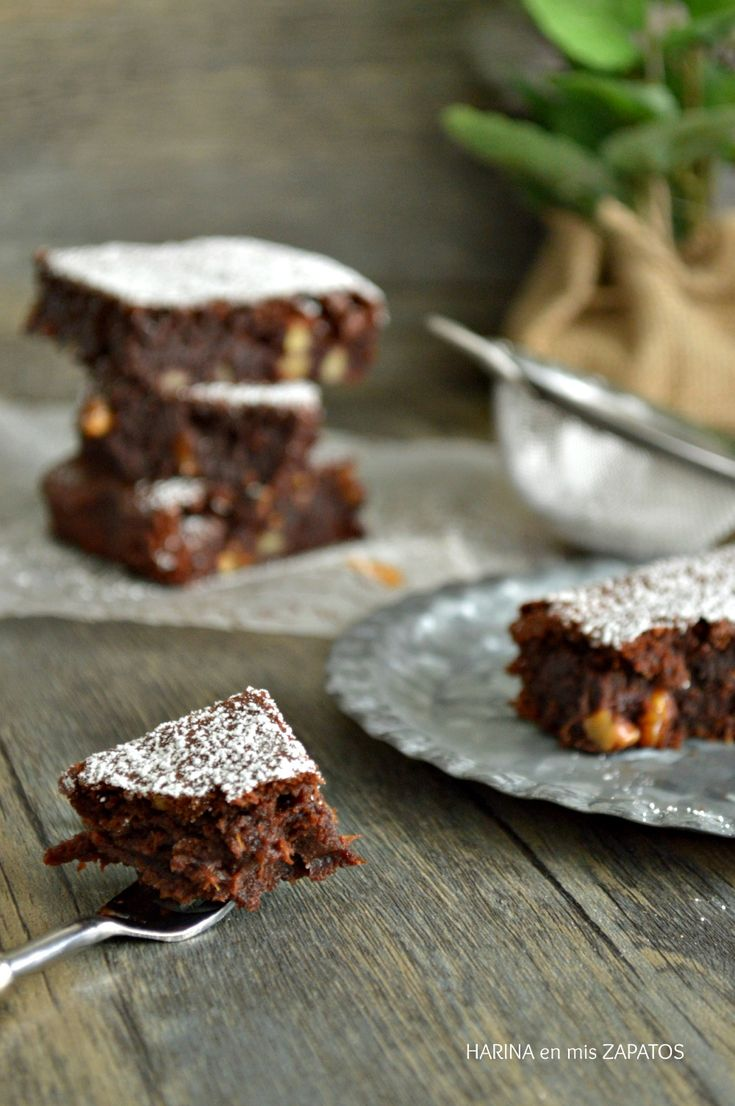 Brownie de Calabaza y Chocolate