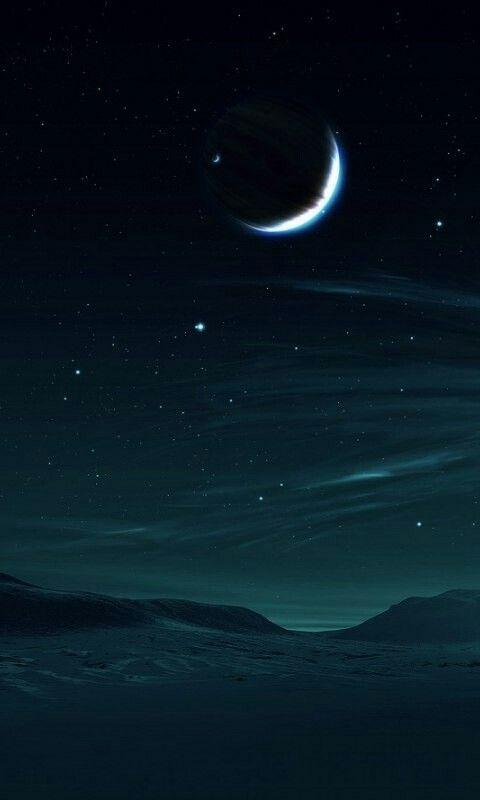 вот, красивые картинки луны и звезд вертикально это