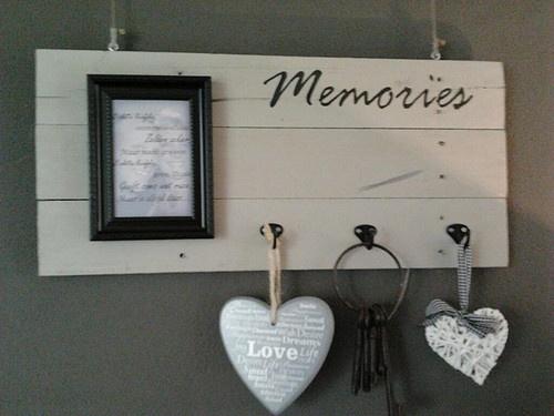 DIY Memories memoboard
