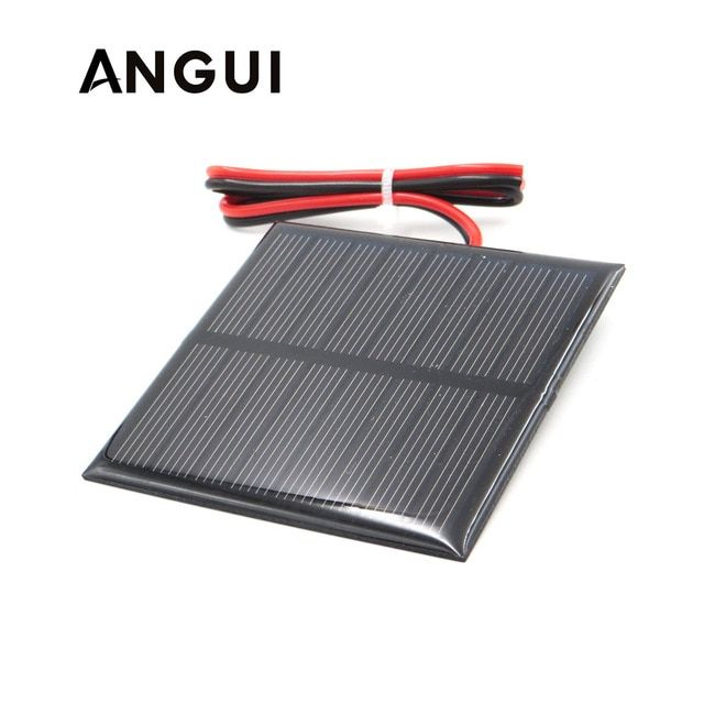 3v 3 5v 4v Solar Panel With 30cm Wire Mini Solar System Diy For Battery Cell Phone Charger 0 36w 0 45w 0 9w 0 24w 0 6w Solar Panels Solar Panels For Home Solar