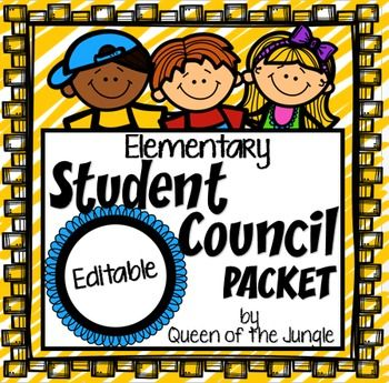 Everything you need to help you with your Elementary School Student Council. The forms, printables and other materials in this packet will help you stay organized and on top of your meetings, projects and fundraising.