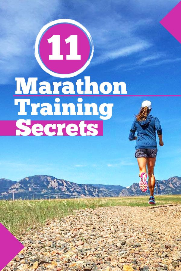 11 marathon training secrets every new runner should know - how to complete your first marathon with less stress and injury