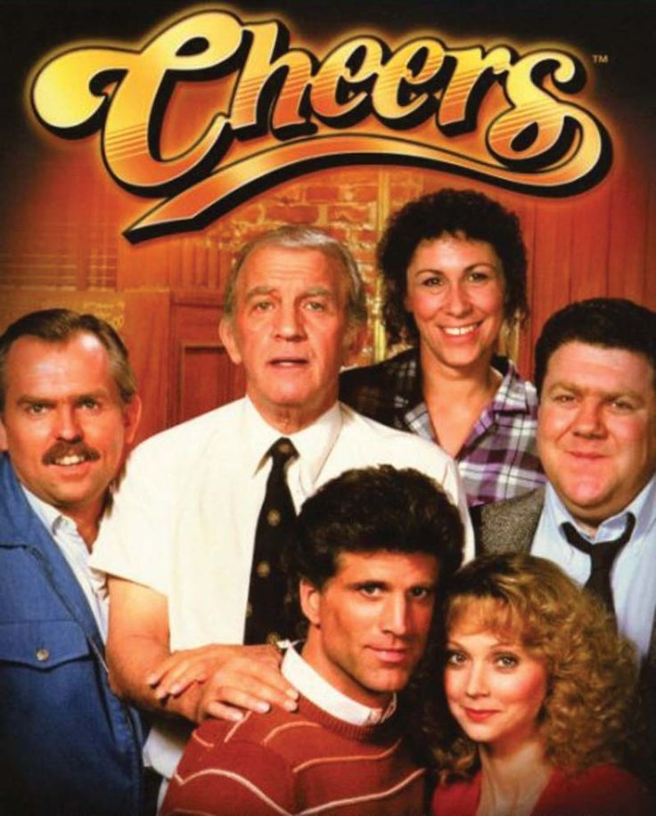 """Cheers. """"Where everyone knows your name...and they're always glad you came..."""" best theme song ever besides Justified."""
