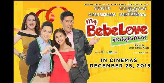 My Bebe Love leads MMFF box-office contest with P159-M in first 3 days #RagnarokConnection