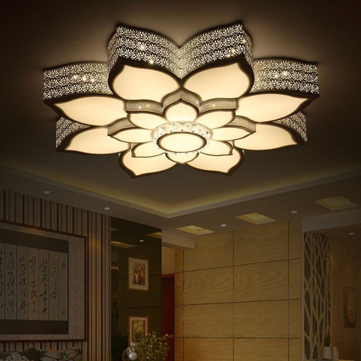 Modern Led Ceiling Lights Fixtures Lamparas De Techo Bedroom Living Lamps Acrylic Plafonnier Lamp Design Kitchen
