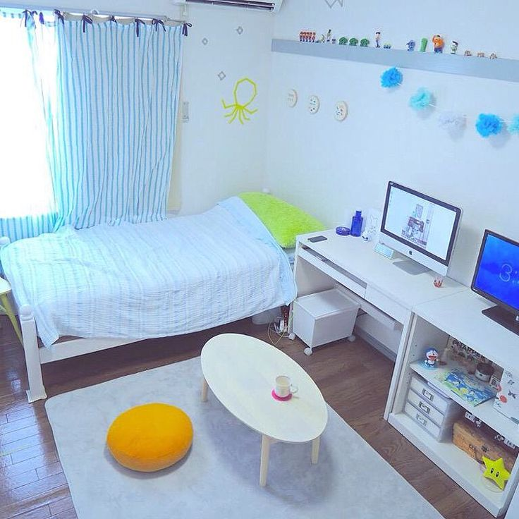 一人暮らし/6畳ワンルーム/部屋全体のインテリア実例 - 2015-09-08 00:06:40 | RoomClip(ルームクリップ)