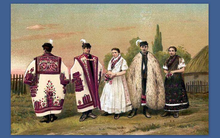 Szabolcs-Szatmar Shire folk wear---vármegyei népviselet - Hungary