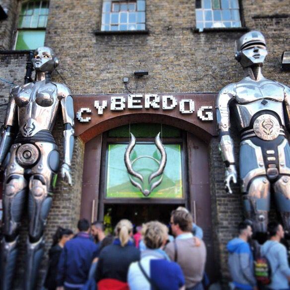 Cyberdog. The coolest shop I've ever been to! More like a nightclub; it even has its own dancers! | #London #UK | Follow Travel-Ling at: http://travel-ling.com