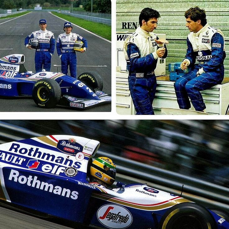 On this day on F1 ~ Ayrton Senna was announced as Damon Hill's team-mate for the 1994 season at the Williams F1 team on October 11, 1993.  For Senna, it was to be a tragically short season, as he was killed the next May in a crash at #Imola. #F1 #AyrtonSenna #WilliamsF1 #FW16
