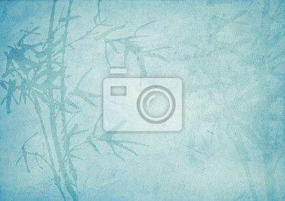 Fotobehang Oosterse bamboe patroon achtergrond