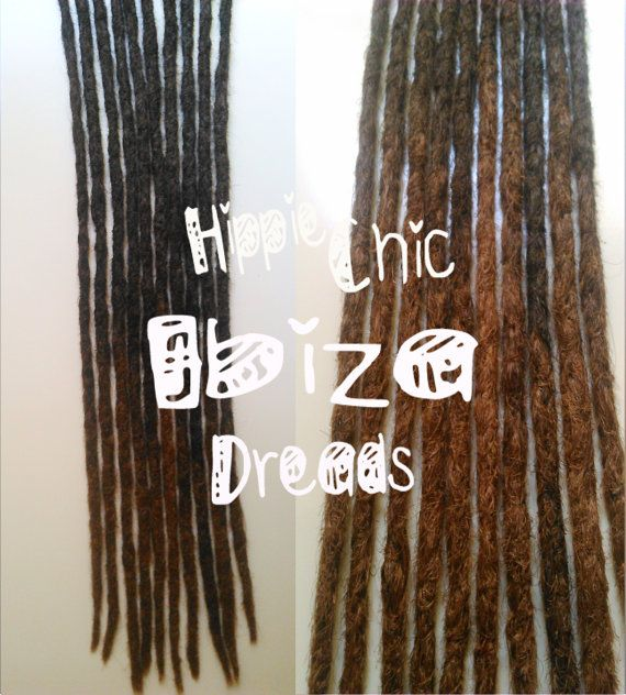 Best 25 human hair dread extensions ideas on pinterest goddess 5 medium clip in human hair dread extension by hippiechicdreads pmusecretfo Images