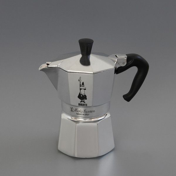 3 Cup Espresso Maker. The original Italian stove-top espresso pot, first manufactured by Alfonso Bialetti in the 1930s.   Available from Labour and Wait • http://www.labourandwait.co.uk/collections/kitchen/products/3-cup-bialetti-moka-express